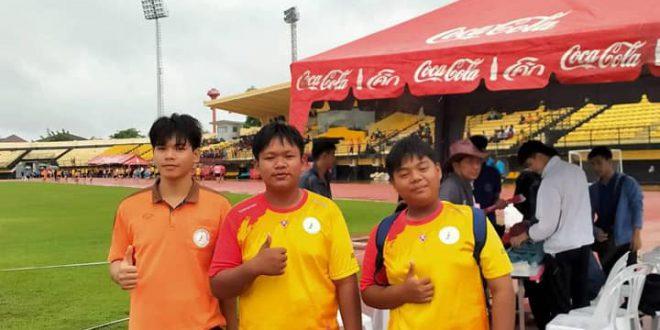 ตัวแทนนักกีฬาการแข่งขันกีฬานักเรียนนักศึกษาจังหวัดขอนแก่น ปี 2563