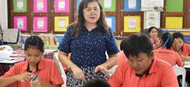 การเปิดชั้นเรียนครั้งที่ 3 ห้องเรียนภาษาไทย