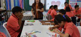 การเปิดชั้นเรียนห้องเรียนวิชาภาษาไทย ครั้งที่ 5