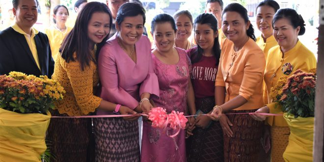 """บริษัทไลฟ์เวนเทจ (ประเทศไทย) จำกัด และร้านครัวคุณนุช ครอบครัวสอนบุญมา มอบศูนย์การเรียนรู้ """"สอนบุญมา"""""""