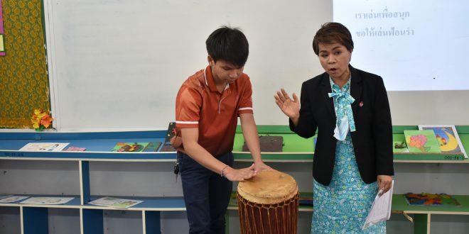 เปิดชั้นเรียน ห้องเรียนวิชาดนตรี-นาฏศิลป์  ครั้งที่ 2