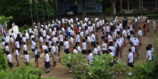 โครงการส่งเสริมผู้เรียนให้มีคุณลักษณะที่พึงประสงค์ ค่านิยม ความเป็นไทยและสากล (กิจกรรมปฐมนิเทศ)